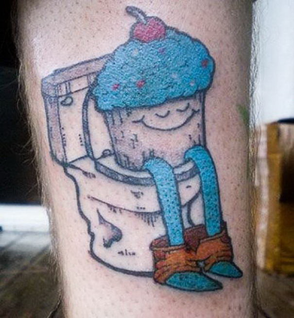 Toilet Tattoo