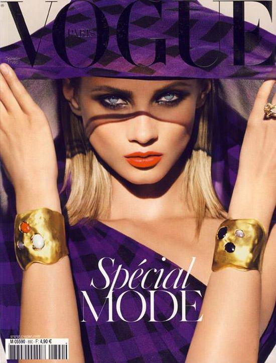 Anna Selezneva  On Vogue