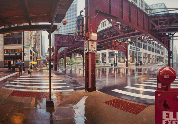 Chicago In The Rain