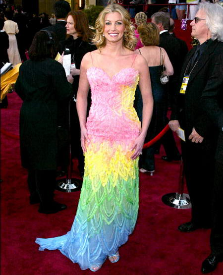 10 most awful oscar dresses of all time