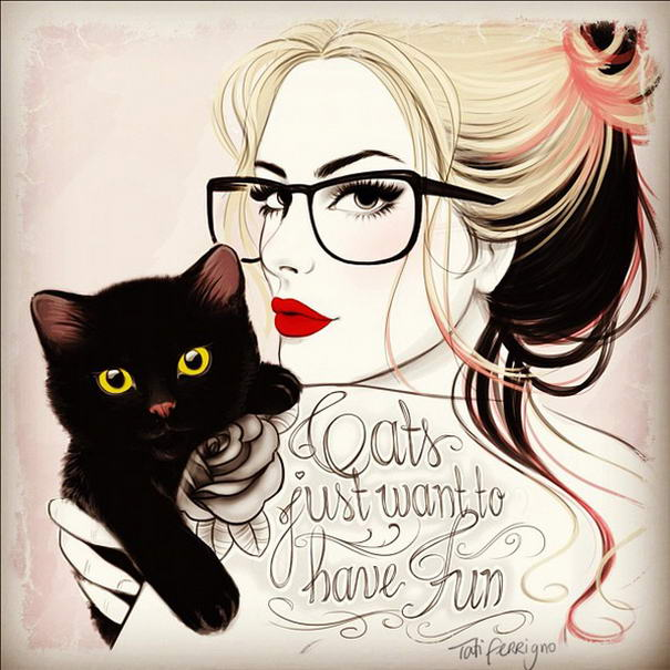 Geek Tattoed Girl