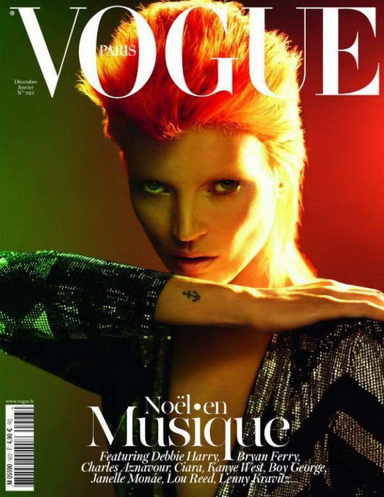 Kate Moss On Vogue