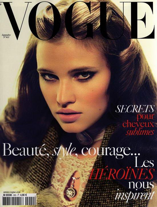 Lara Stone On Vogue