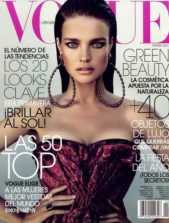 Natalia Vodianova on Vogue