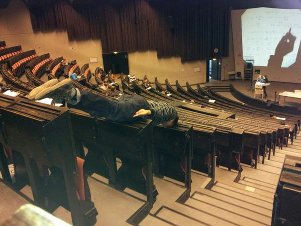 Planking In Theater
