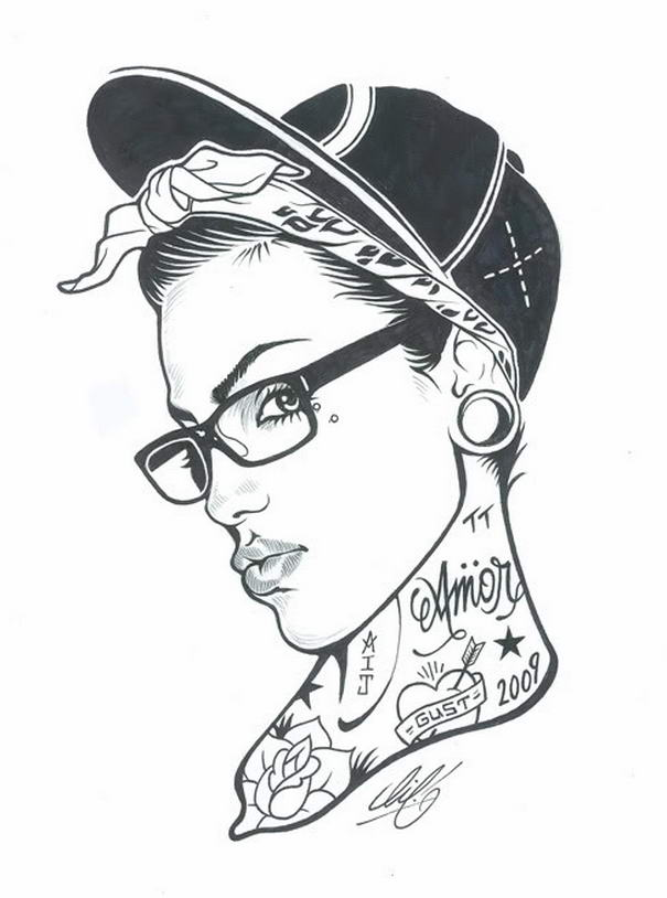 Tattoed Women By Adam Isaac Jackson