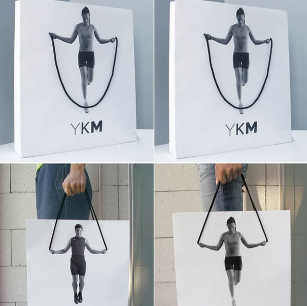 YKM - Jump Rope Shopping Bags