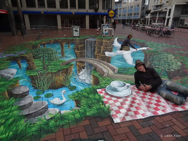 Amsterdamse Poort Street Paintings