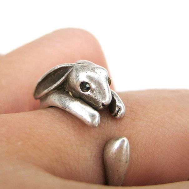 Bunny Love Ring By Creative Accidents