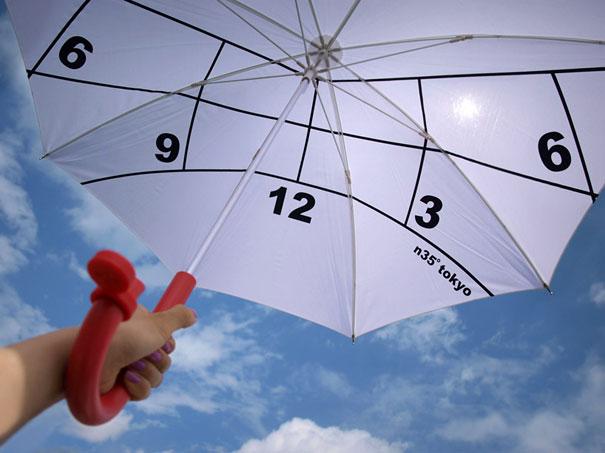Clock Parasol (1)