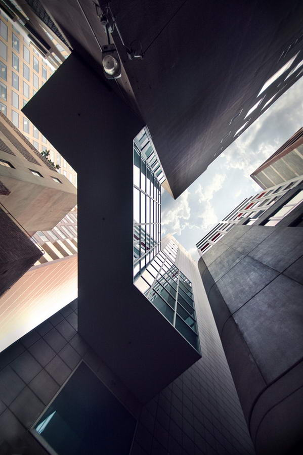 Howit Lane in Melbourne Skyscraper Photos