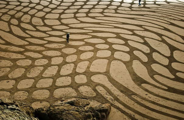 Sand Paintings By Andreas Amador Enchanting Sand Paintings