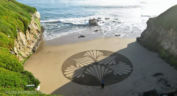 Sand Paintings By Andreas Amador