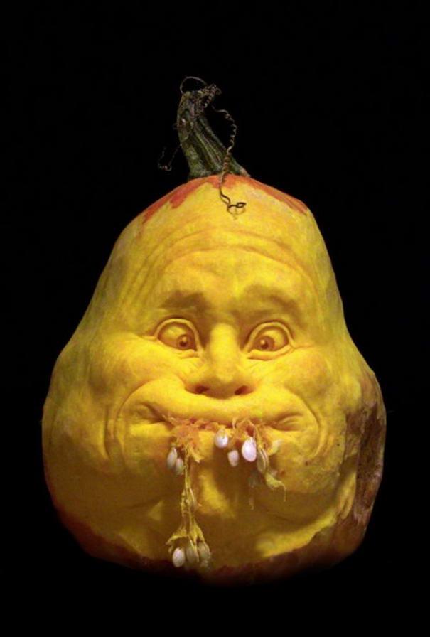 by Ray Villafane  (1) Pumpkin Carvings