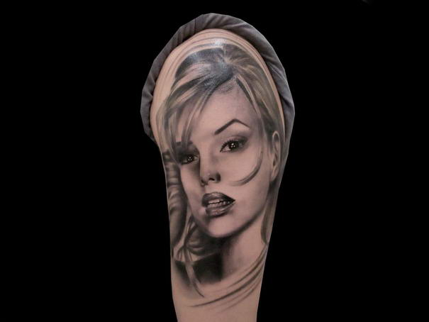 Realistic Tattoos By Silvano Fiato (8)