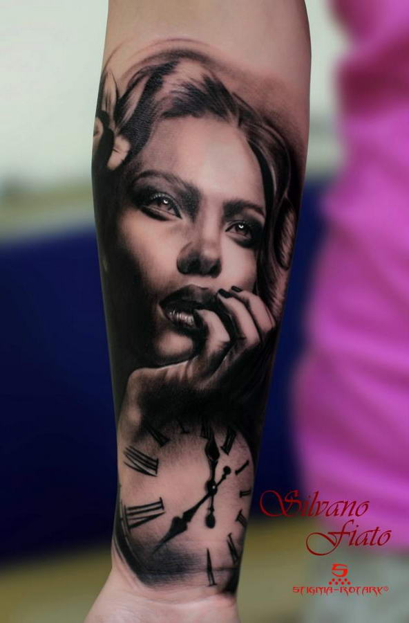 10 Of Everything Most Realistic Tattoo Portraits By Silvano Fiato