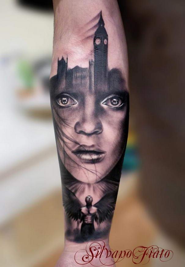 Realistic Tattoos By Silvano Fiato (5)