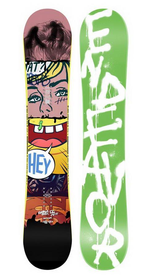 Skateboards By Grzegorz Domaradzki (1) Snowboard Designs