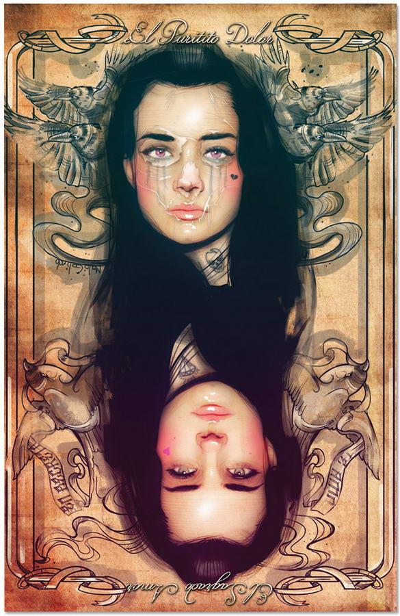 Tattooed Girls By Malo Galindo (6)