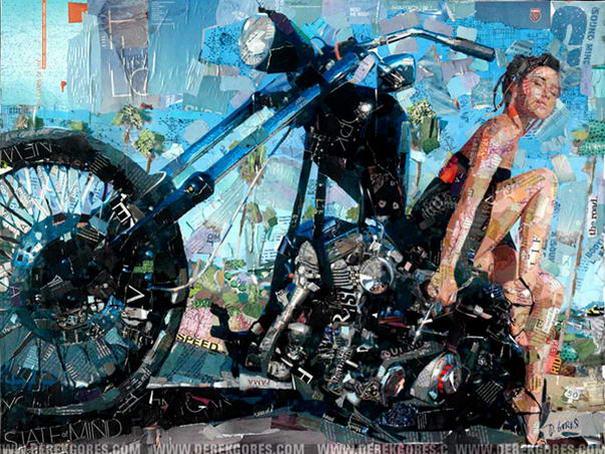 Collage Portraits By Derek Gores (7)