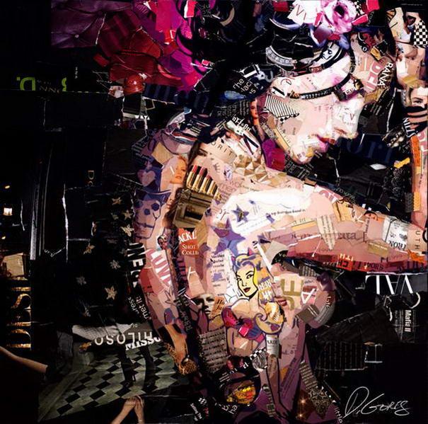 Collage Portraits By Derek Gores (10)