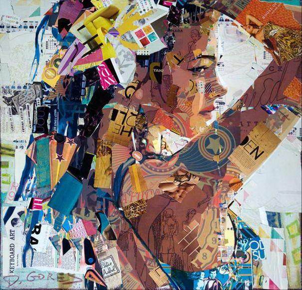 Collage Portraits By Derek Gores (1)