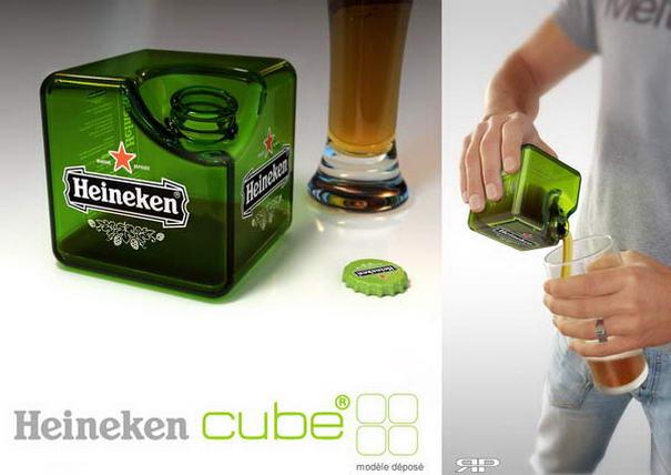 Heineken Cube