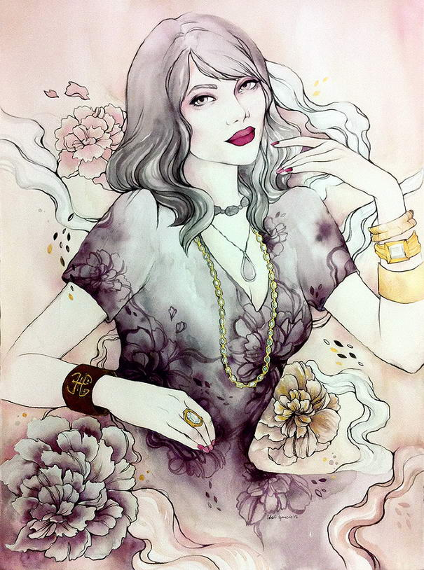 Illustrations by Soleil Ignacio (1) Alluring Illustrations