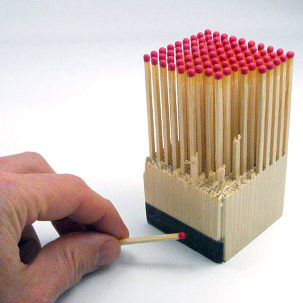 Wooden Matches Block (2)