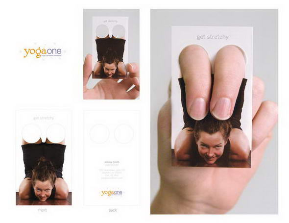 Yoga One Business Cards By Ryan Coleman