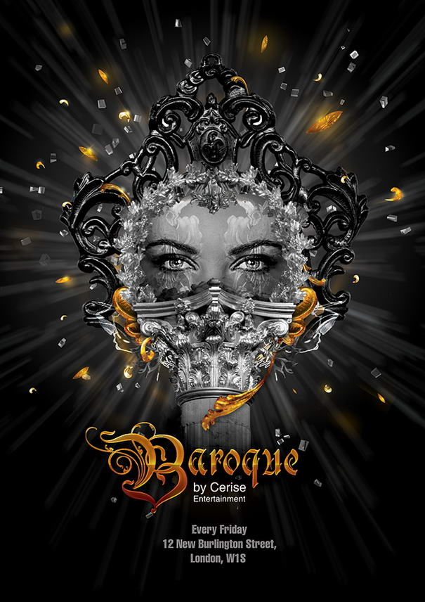 Baroque flyer by ElenaSham
