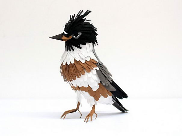 Belted Kingfisher Sculptures