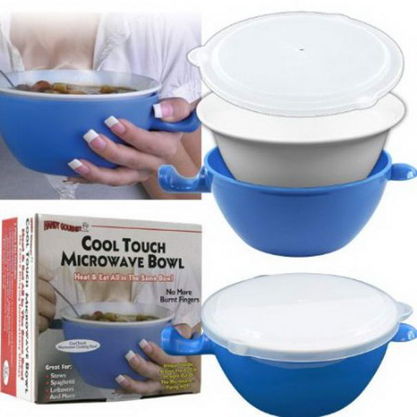 Cool Touch Microwave Bowl by WalterDrake