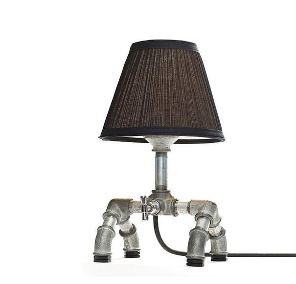 Mechanical Table Lamp by Kozo