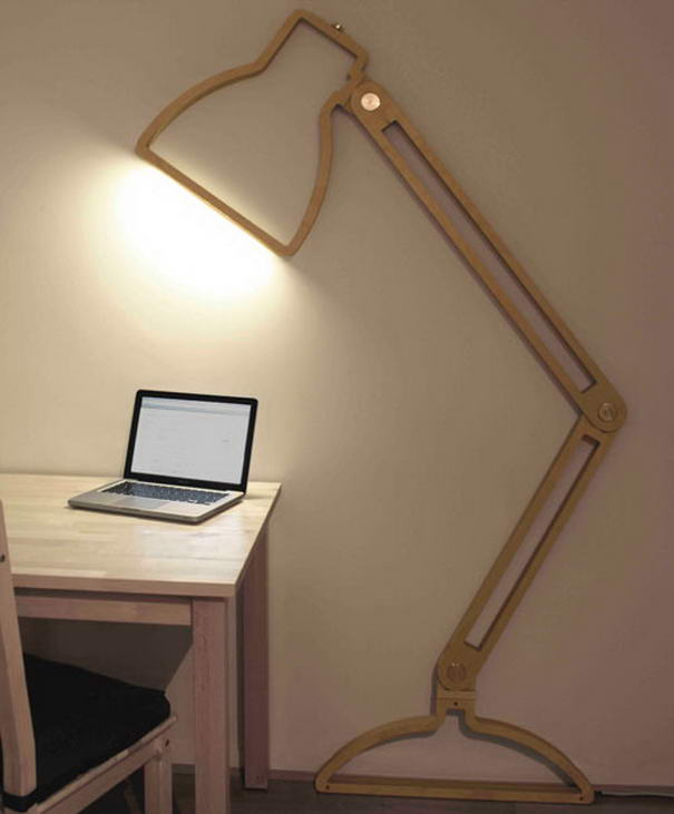 Modern Lamp by Giles Godwin-Brown