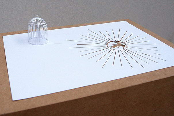 Paper Art By Peter Callesen (4)