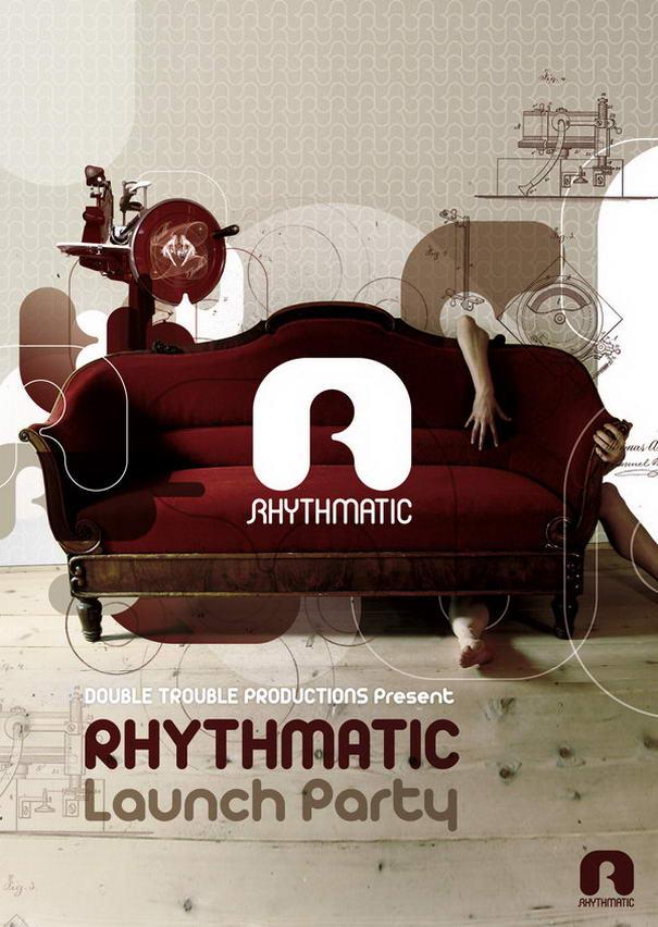 Rhythmatic Launch Flyer by SeBDeSiGN