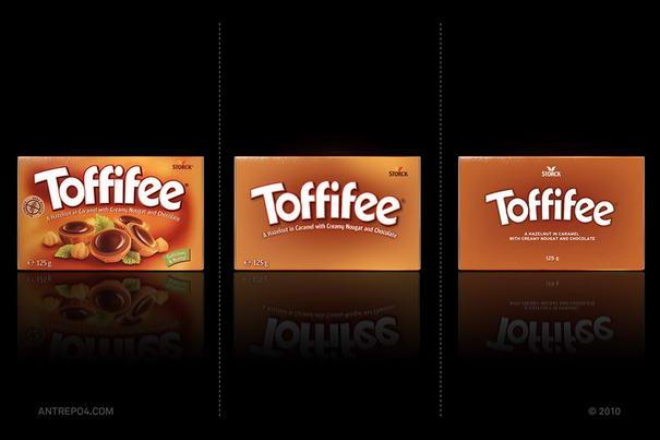 Toffifee Packaging Designs