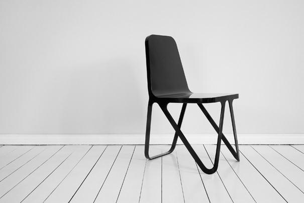 Aluminum Chair By Sebastian Scherer