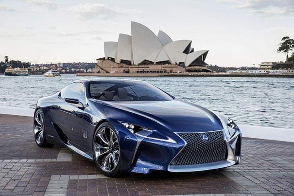 Lexus LF-LC Hybrid Concept (2)