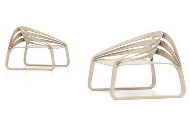 Plooop chair By Timothy Schreiber