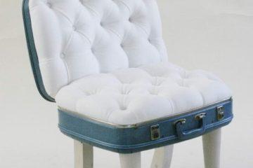 Suitcase Chair – White Fiesta