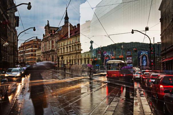 Long Exposure Photography TRAJECTOIRE - Prague