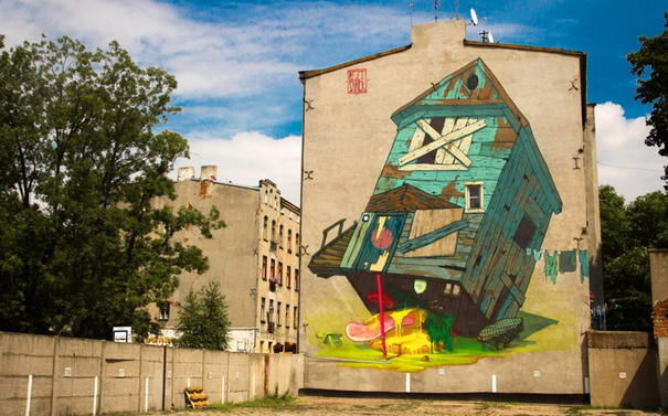 10 Most Gorgeous Huge Street Art Examples By Sainer And Bezt