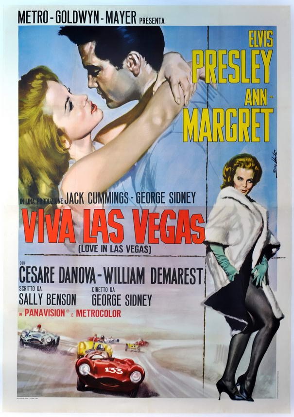 Movie Posters Viva Las Vegas
