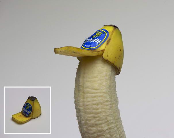 Banana Peel Trucker Hat