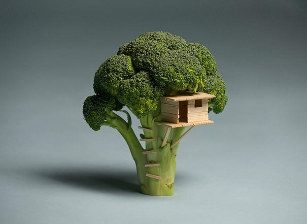 Twisted Creations Broccoli House