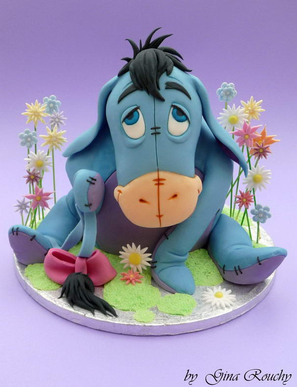 Eeyore 2 Cake