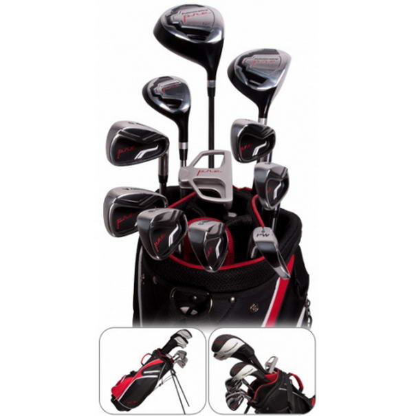 Pinemeadow Pre 16-Piece Complete Golf Set