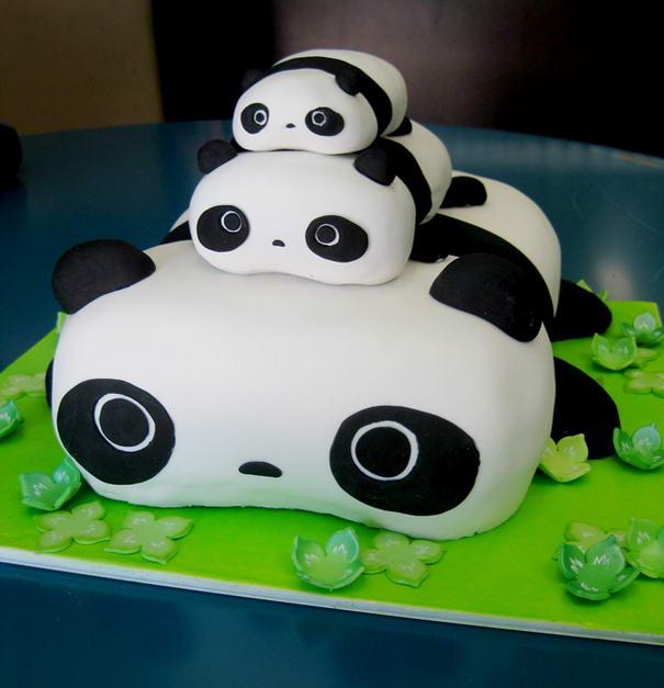 Tare Panda Cake